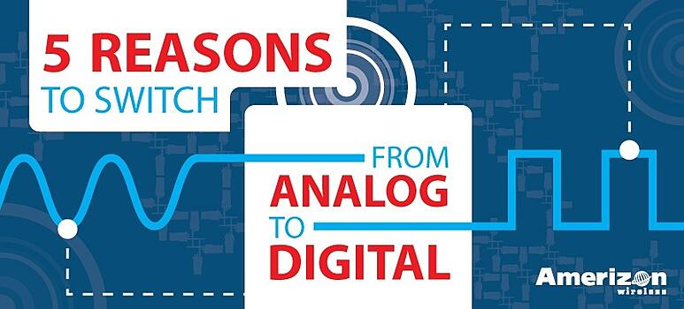 5 Reasons to Switch From Analog to Digital Two-Way Radios
