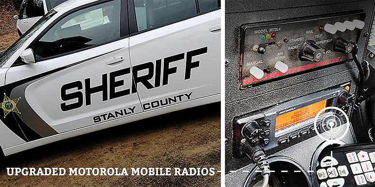 Stanly County Sheriff Department Project - Showing Expertise in Vehicle Two-Way Radio Installations